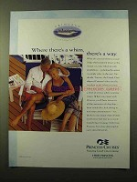 2000 Princess Cruises Ad - Where There's a Whim