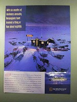 1998 Norwegian Cruise Line Ad - Six Months of Darkness
