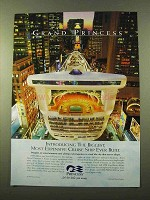 1998 Princess Cruises Ad - Biggest Most Expensive