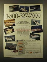 1989 OMC Boat Group Ad - Talk to Ten Companies