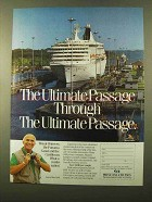 1988 Princess Cruises Ad - The Ultimate Passage