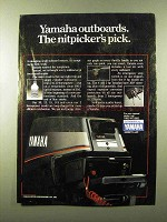 1984 Yamaha Outboard Motors Ad - Nitpicker's Pick