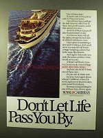 1984 Royal Caribbean Cruise Ad - Don't Let Life Pass
