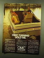 1980 OMC Stern Drive Ad - OMC Turning Sold Me