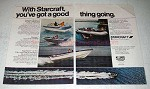 1978 Starcraft Boat Ad - American Offshore 22, Montego