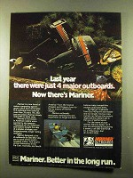1978 Mariner Outboard Motors Ad - 4 Major Outboards