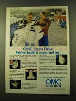 1978 OMC Stern Drive Ad - We've Built It Even Better
