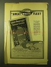 1914 United Fruit Company Steamship Service Ad!