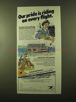 1984 South African Airways Ad - Our Pride is Riding