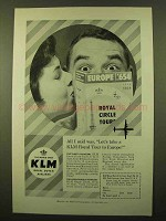 1959 KLM Royal Dutch Airlines Ad - All I Said Was