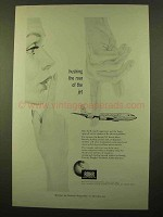 1958 Rohr Aircraft Ad - Hushing the Roar of the Jet