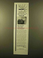 1958 Braun Hobby Special AM Flash Ad!
