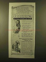 1958 Bauer 88E Electromaster Movie Camera Ad