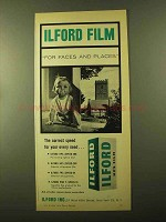 1957 Ilford HP5 Film Ad - For Faces and Places
