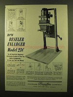 1956 Beseler Model 23C Enlarger Ad!