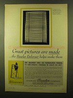 1956 Beseler Model 45M Enlarger Ad - Pictures are Made