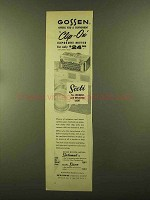 1956 Gossen Sixti Clip-On Exposure Meter Ad