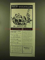 1956 Marshall's Photo-Oil Colors Ad - Color This!