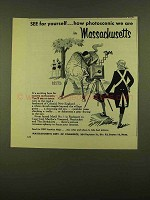 1956 Massachusetts Department of Commerce Ad