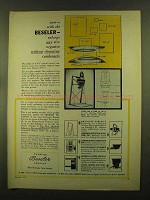 1955 Beseler Enlargers Ad - Any Size Negative