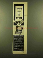 1953 Marshall's Photo-Oil Colors Ad - You Can Afford