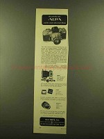 1953 Alpa Cameras Ad - World's Most Advanced 35mm
