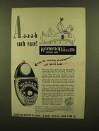 1950 Norwood Director Exposure Meter Ad - Such Ease