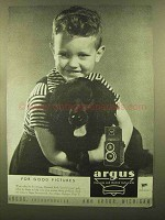 1945 Argus Argoflex Camera Ad - Good Pictures