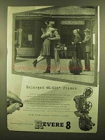 1945 Revere Movie Cameras and Projectors Ad - Enlarged