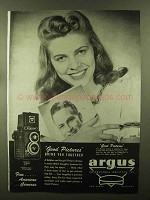 1944 Argus Argoflex Camera Ad - Bring You Together