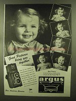 1944 Argus Argoflex Camera Ad - Good Pictures