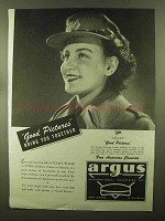 1944 Argus Cameras Ad - Good Pictures Bring Together