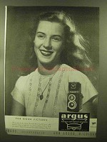 1944 Argus Argoflex Camera Ad - For Good Pictures
