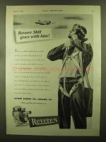 1944 Revere Movie Cameras Ad - Skill Goes With Him