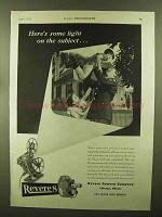 1944 Revere Movie Cameras and Projectors Ad - Light