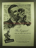 1944 Revere Movie Cameras and Projectors Ad - Fine
