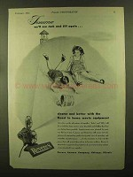1944 Revere Movie Equipment Ad - Jack and Jill