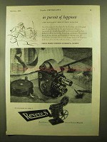 1944 Revere Movie Cameras and Projectors Ad - Pursuit