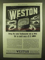 1943 Weston Instruments Ad - Same Fundamental Job