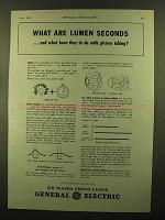 1943 General Electric Mazda Photo Lamps Ad - Lumen