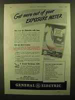 1943 General Electric Exposure Meter Ad - Get More