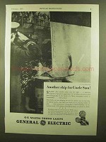 1943 General Electric Mazda Photo Lamps Ad - Ship