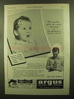 1943 Argus Argoflex Camera Ad - Easier Focusing