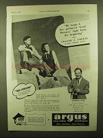 1943 Argus Model A Camera Ad - Produced Good Pictures
