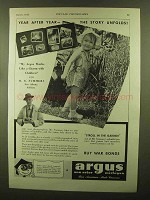 1943 Argus Cameras Ad - Year After Year