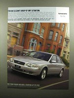 2004 Volvo S80 Car Ad - Elegant Grasp of Any Situation