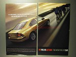 2001 Volvo S60 Car Ad - So Aerodynamic