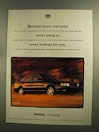1999 Toyota Avalon Car Ad