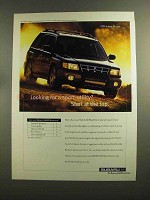 1999 Subaru Forester Ad - Start at the Top