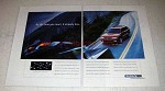 1998 Subaru Car Ad - By the Time You React, It Has